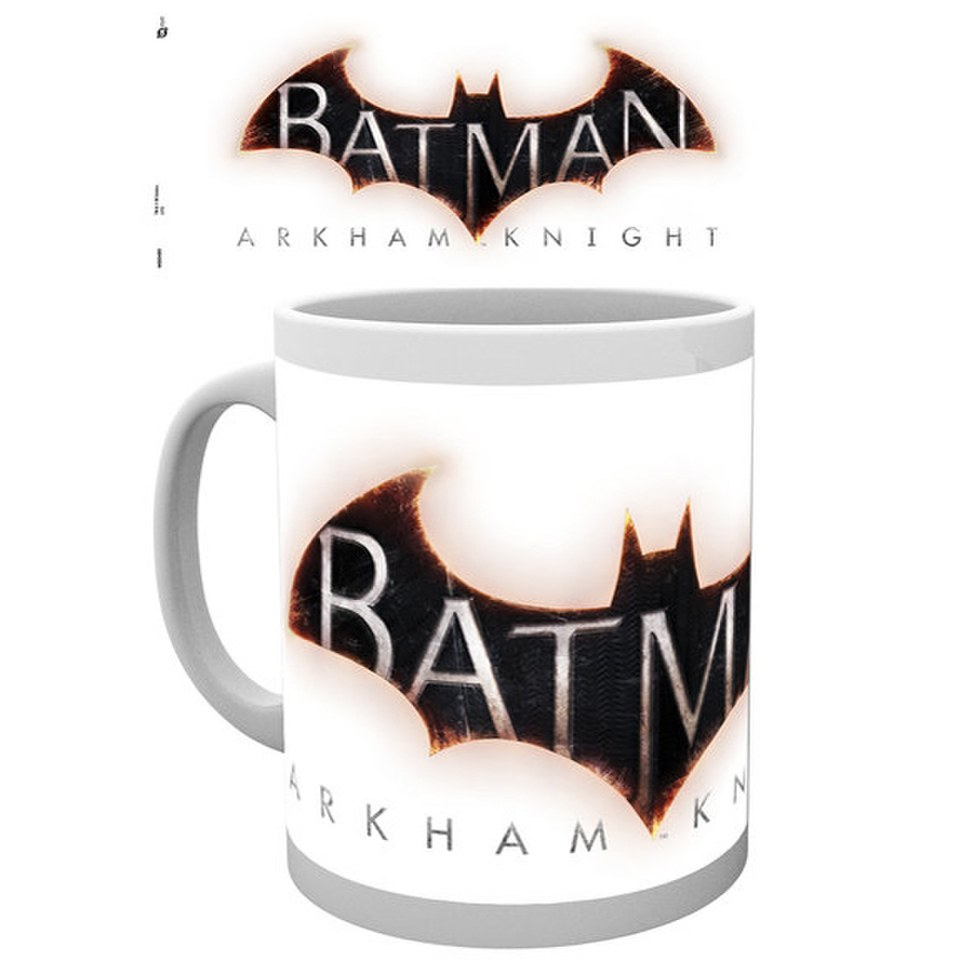 DC Comics Batman Arkham Knight Logo - Mug