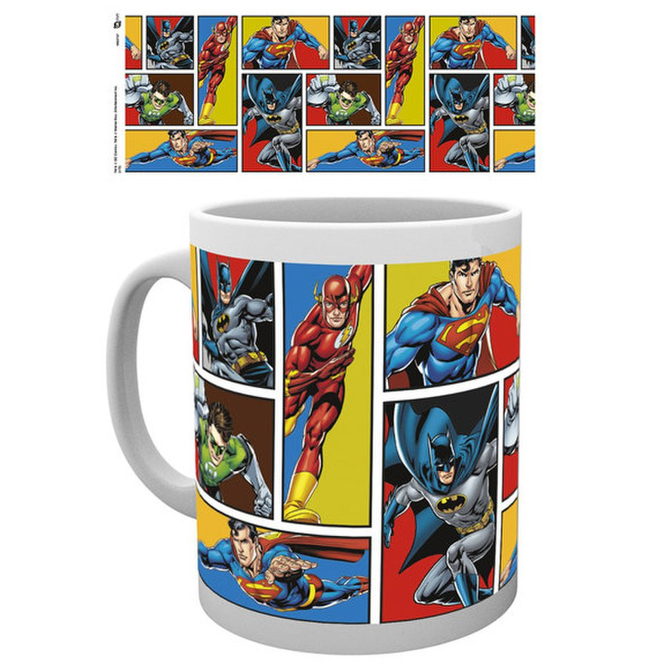 DC Comics Justice League Grid - Mug
