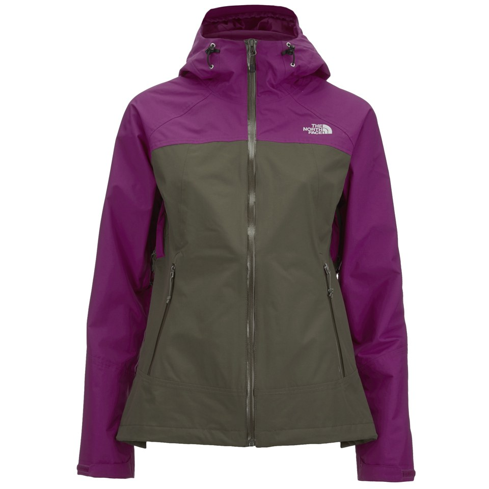 the north face women s stratos hyvent jacket new taupe green rh thehut com