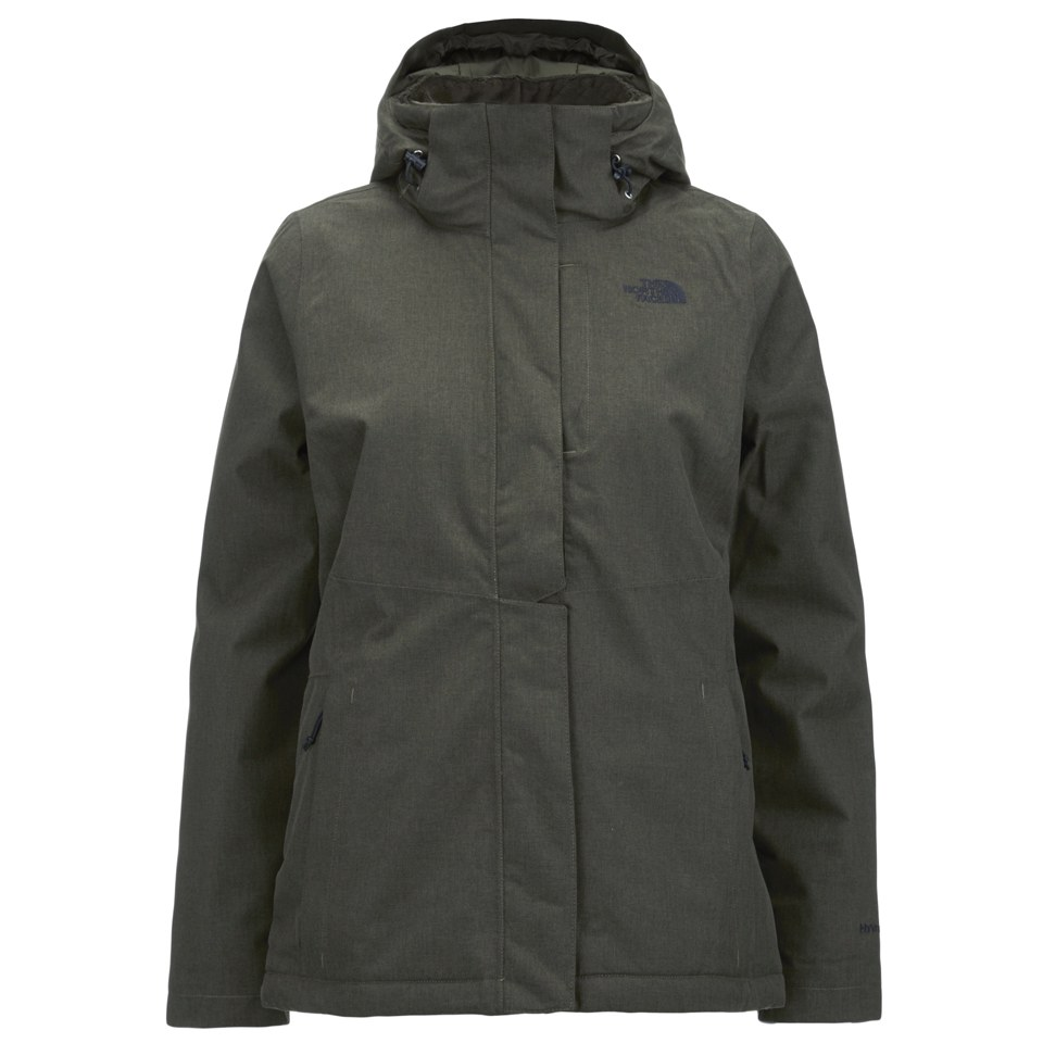 f48cf5eb0 The North Face Women's Inlux Insulated Hooded Jacket - Taupe Green