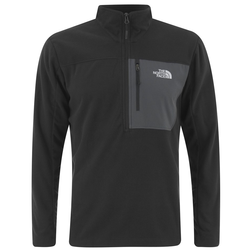 9ce1576a5 The North Face Men's Tech 100 Half Zip Fleece - TNF Black