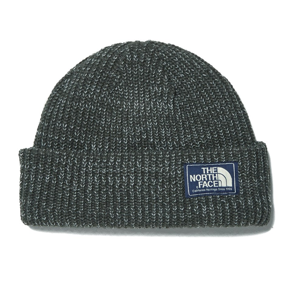 7f396df7fe2 The North Face Men s Salty Dog Beanie Hat - Graphite Grey Clothing ...