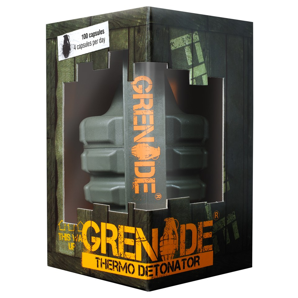 Grenade Thermo Detonator Unflavoured (44 Capsules)