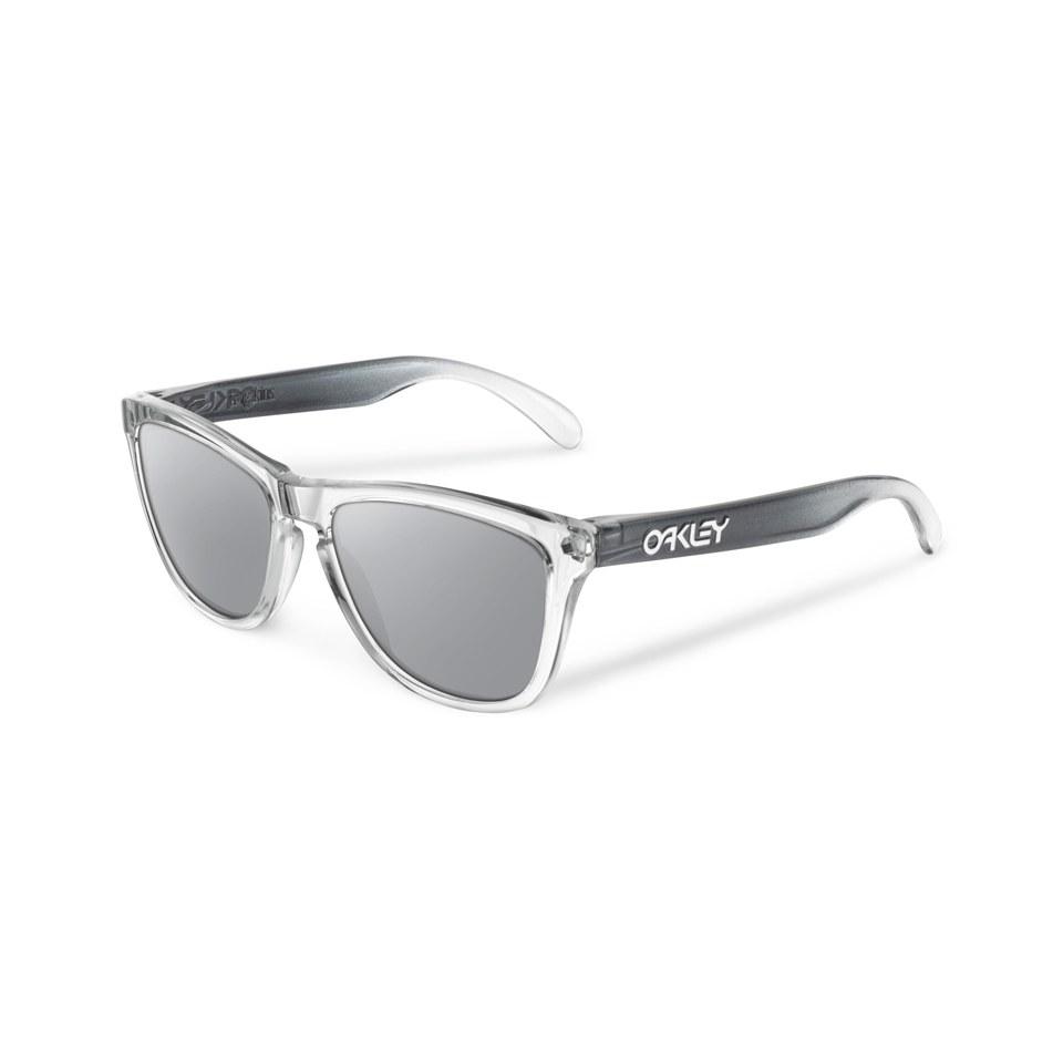 8349cf21e9918 Oakley Frogskin Sunglasses - Alpine Storm Chrome Iridium