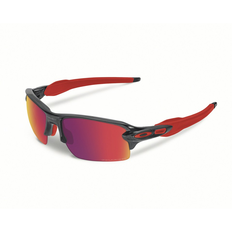a78c705eb09 Oakley Flak 2.0 Sunglasses - Black Ink Red Iridium Polarized ...