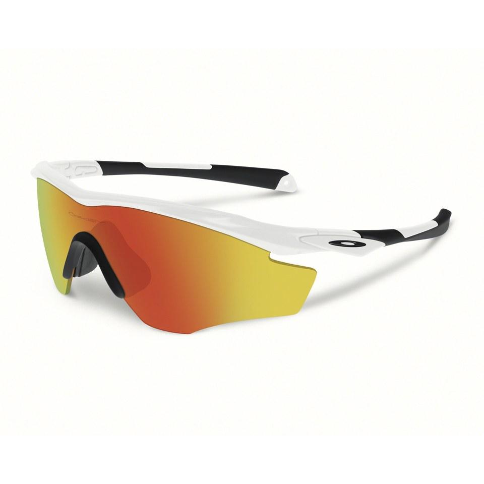 e38c7bc03d Oakley M2 Frame XL Sunglasses - Polished White Fire Iridium ...