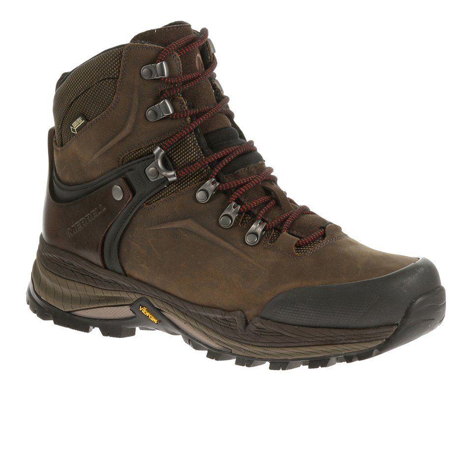 f74a13f9a8f Merrell Men's Crestbound GORE-TEX Hiking Shoes - Brown