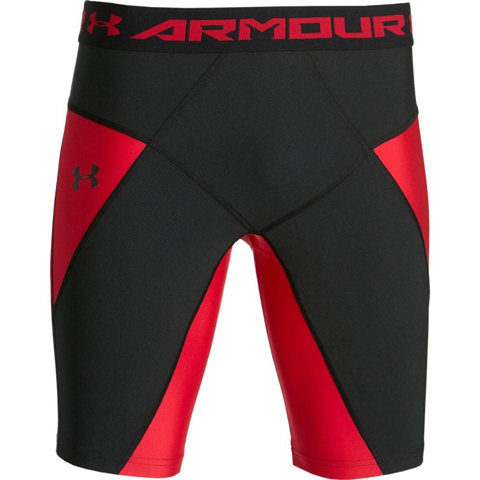 4783c458 Under Armour Men's HeatGear Core Shorts - Red
