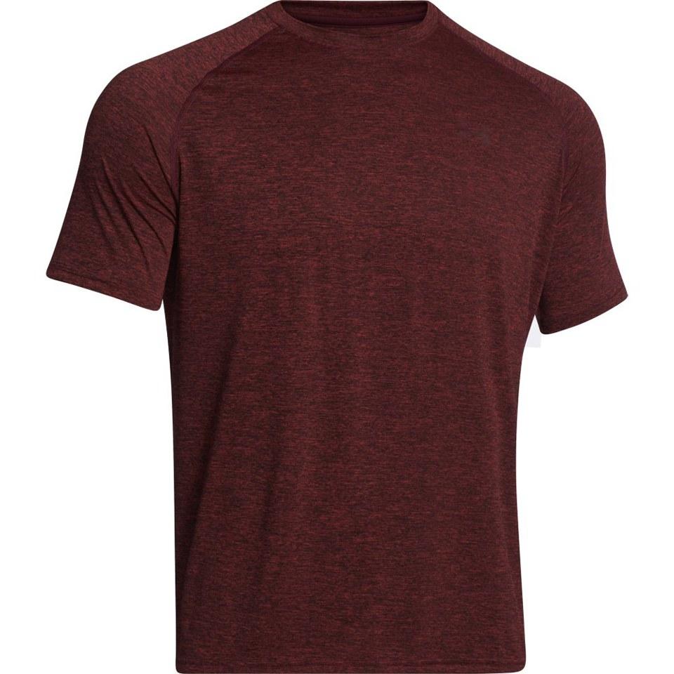 9eed156485 Under Armour Men's Tech Short Sleeve T-Shirt - Red