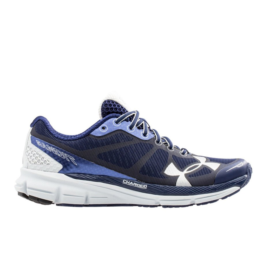 official photos 74d02 eb282 Under Armour Women's Charged Bandit Night Running Shoes - Blue/White