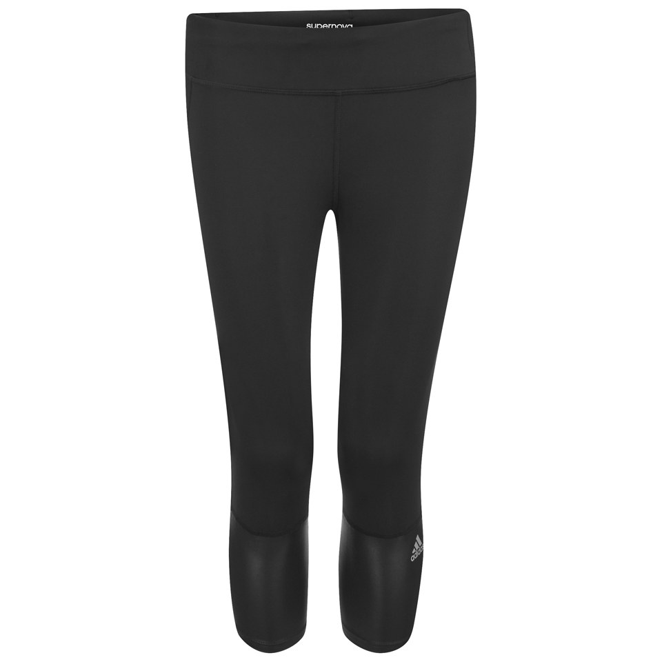 741f2d20e0b adidas Women's Supernova 3/4 Running Tights - Black   ProBikeKit UK