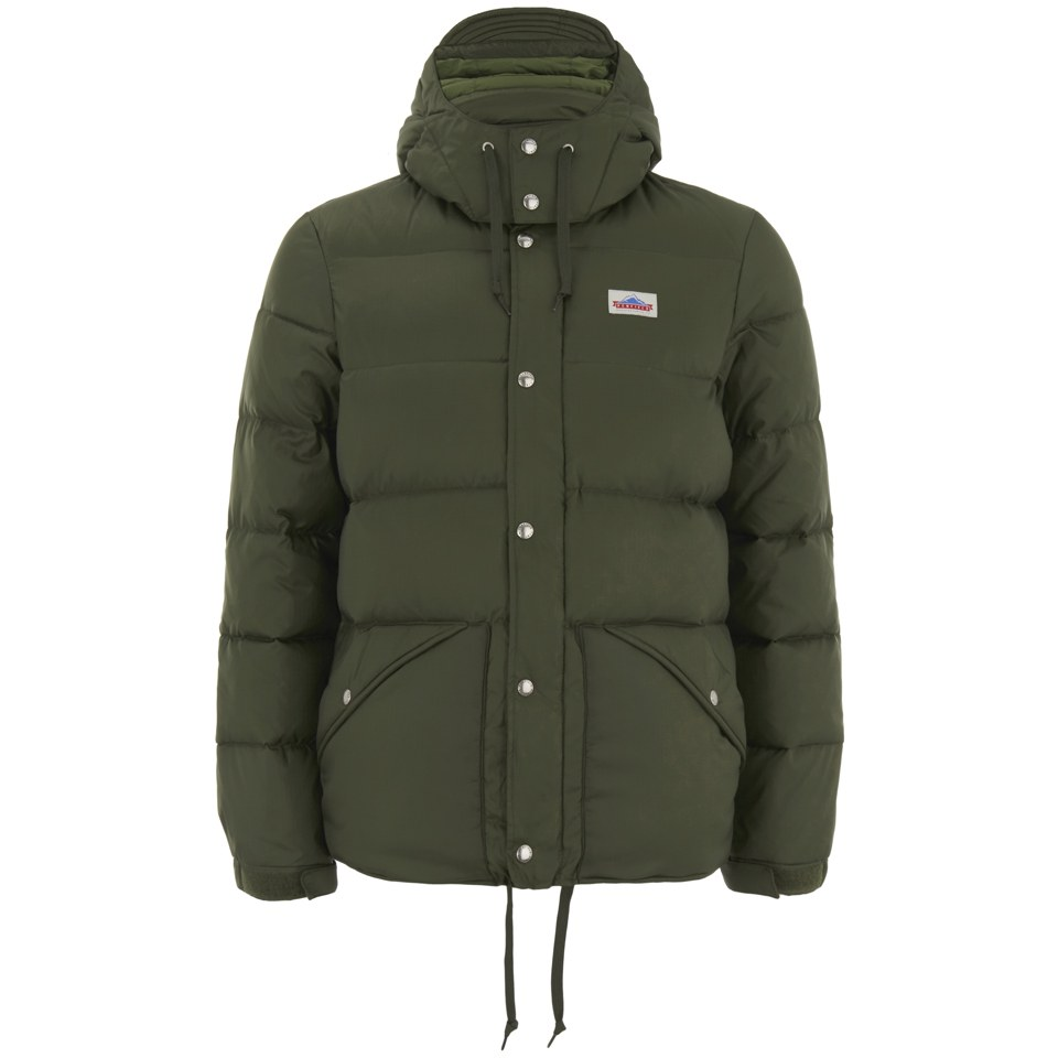 771bf4218 Penfield Men's Bowerbridge Down Insulated Hooded Jacket - Olive