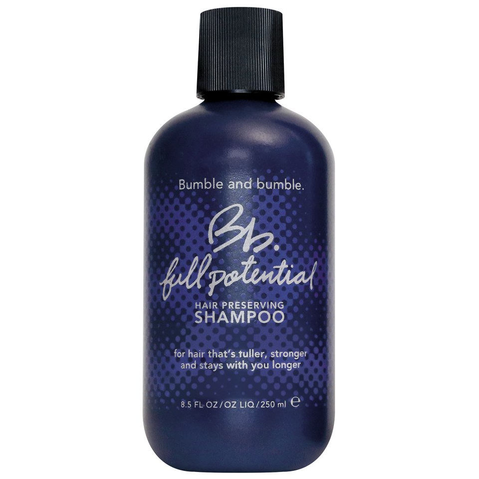 bumble and bumble full potential shampoo 250ml hq hair. Black Bedroom Furniture Sets. Home Design Ideas