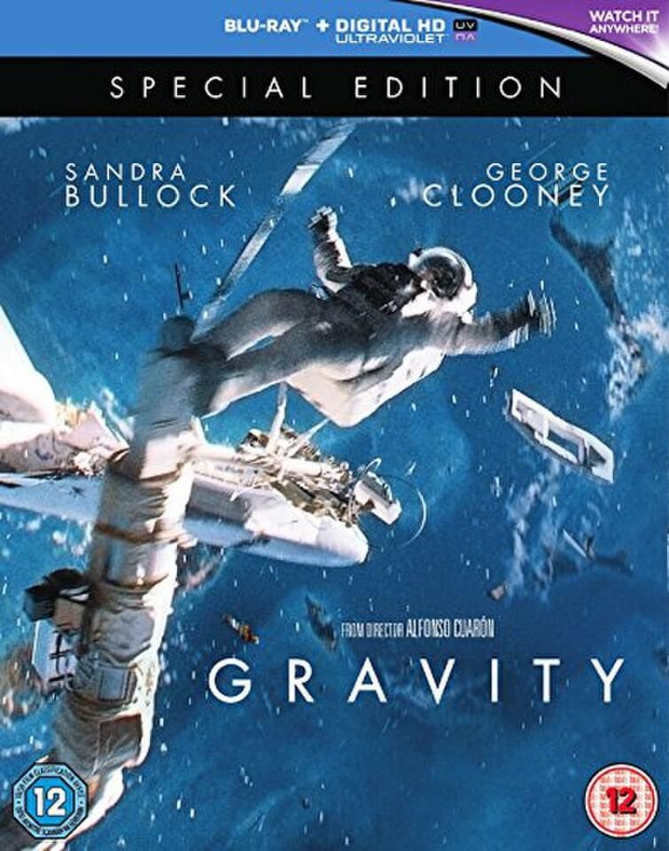 Gravity special edition blu ray zavvi - Gravity movie 4k ...