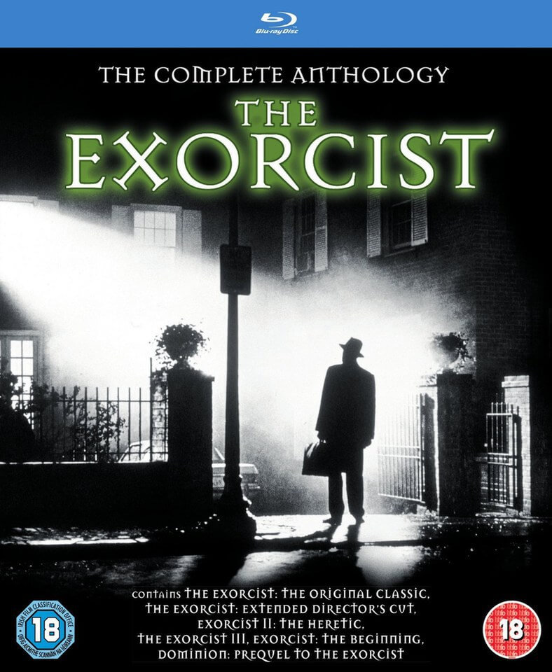 the exorcist complete anthology very limited release blu ray zavvi