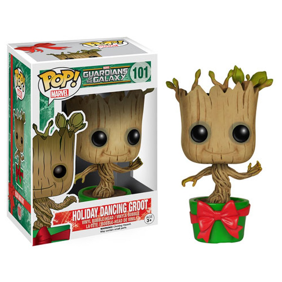 Guardians of the Galaxy Holiday Dancing Groot Pop Vinyl Figure