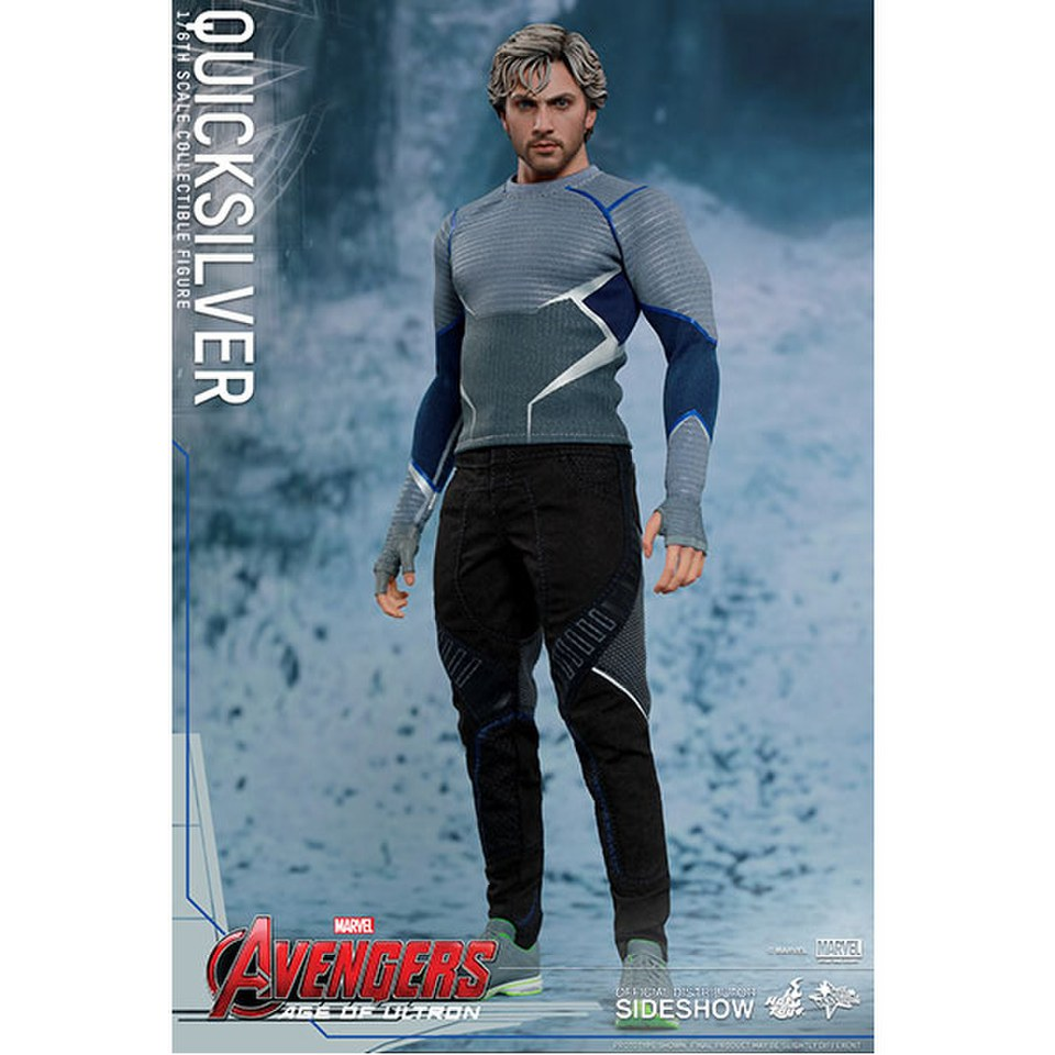 Hot Toys Marvel Avengers Age Of Ultron Quicksilver 1:6 Scale Figure