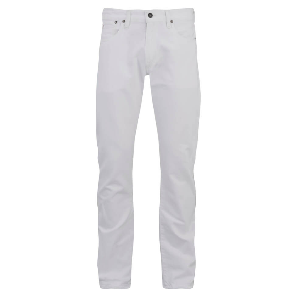 712144bb Polo Ralph Lauren Men's Varick Slim Jeans - Hudson White
