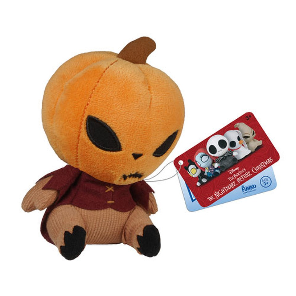 Mopeez Disney Nightmare Before Christmas Pumpkin King Plush Figure ...