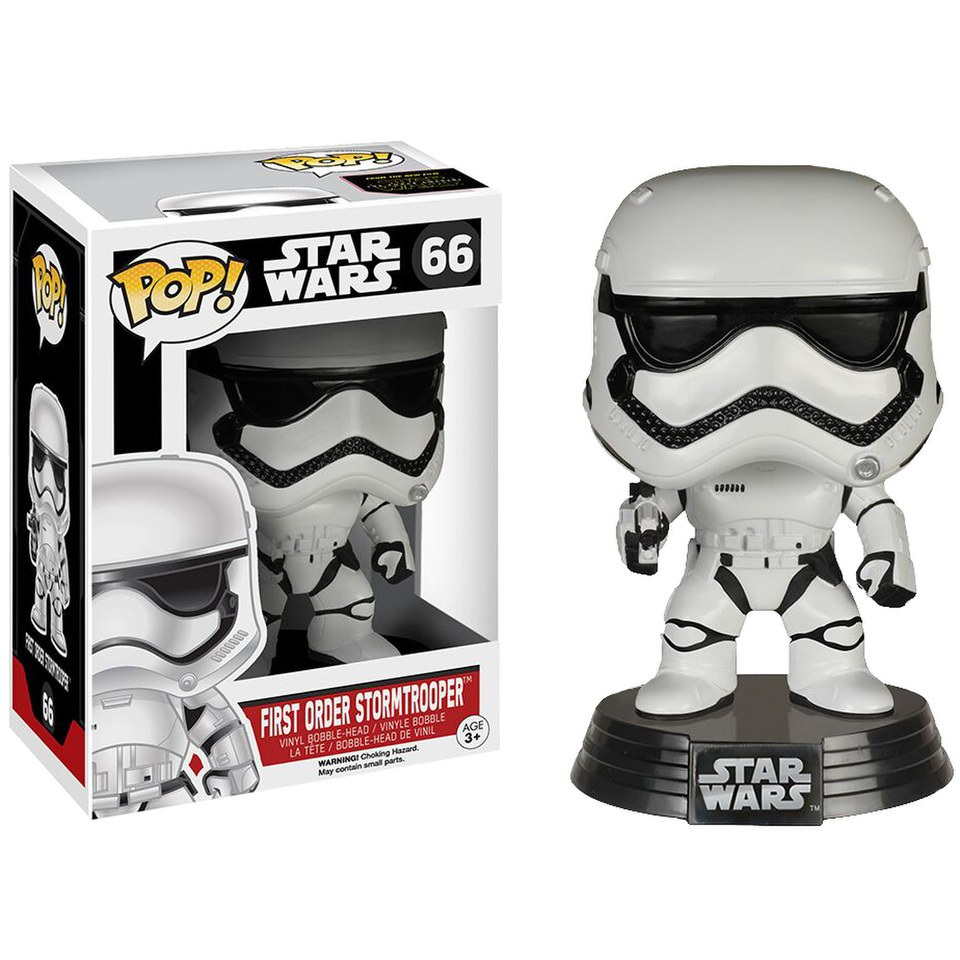 Star Wars: The Force Awakens First Order Stormtrooper Pop! Vinyl Figure