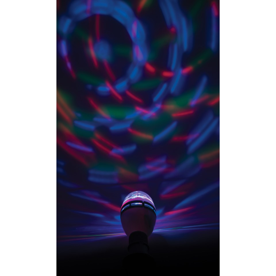 LED Disco Light Bulb