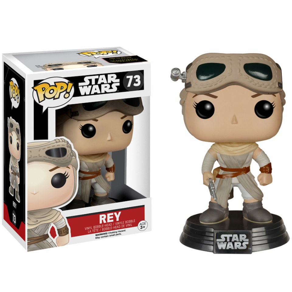 Star Wars: The Force Awakens Episode VII Rey Pop! Vinyl Figure