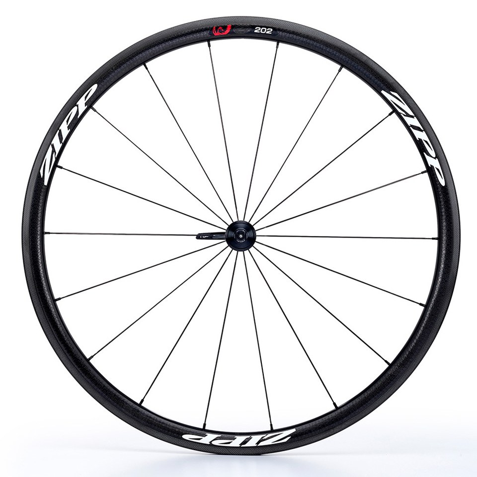 Zipp 202 Firecrest Carbon Clincher Rear Wheel - White Decal