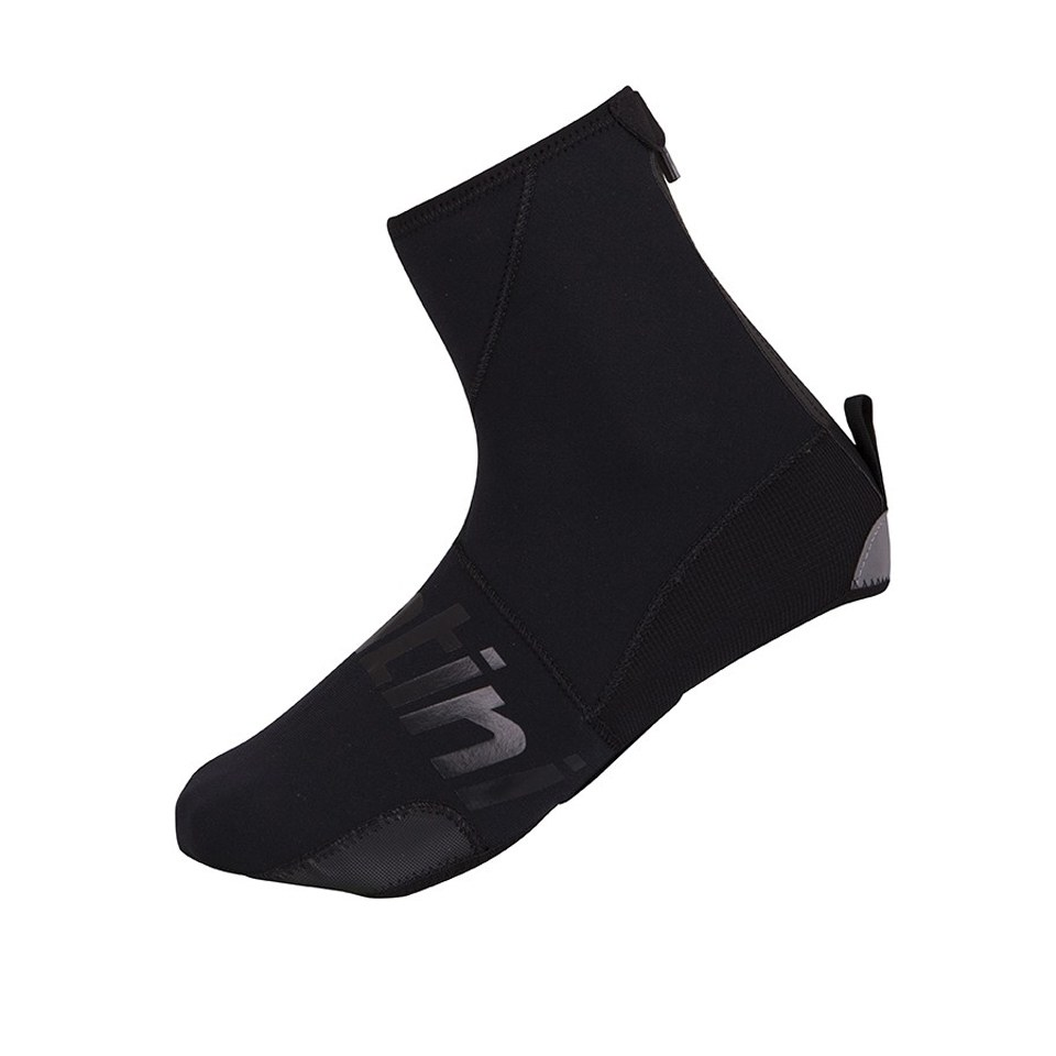 Santini Neo Dark Waterproof Overshoes - Black