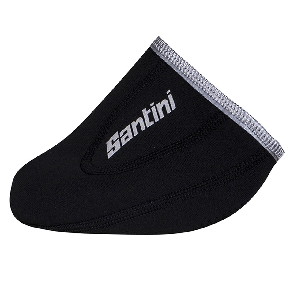 Santini Blast Neoprene Toe Covers - Black