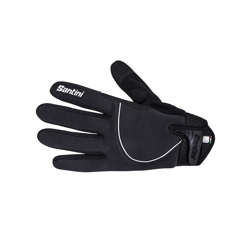 Santini Studio Airtech Thermal Gloves - Black