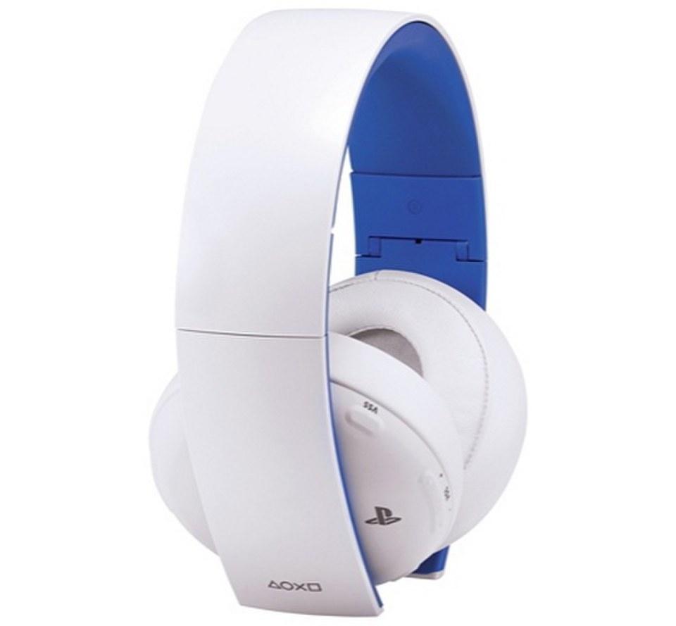 Sony Playstation Micro Casque Stéréo Sans Fil 20 Blanc Games