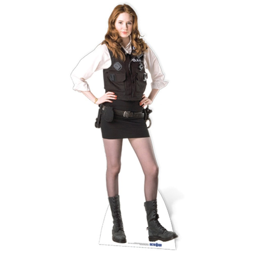 Doctor Who Amy Pond Policewoman Uniform Cut Out