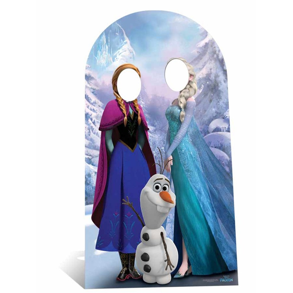 Disney Frozen Stand In Cut Out