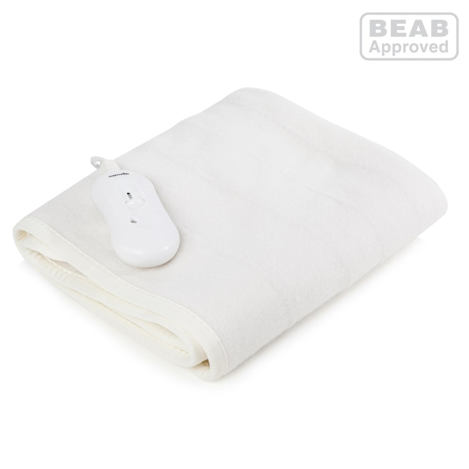 Warmnite WN47003 Heated Electric Blanket - White - Single