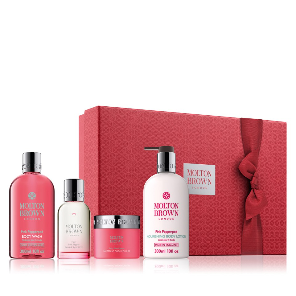 337d80a4ec11 Molton Brown Fiery Pink Pepper Pampering Body Gift Set (Worth £92.00 ...