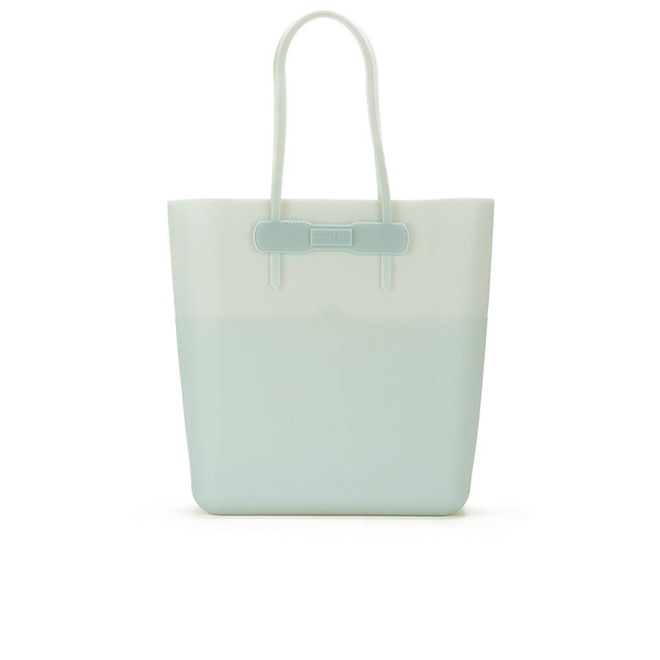 b61ebc7a12 Hunter Women s Original Silicone Tote Bag - Porcelain Blue - Free UK ...