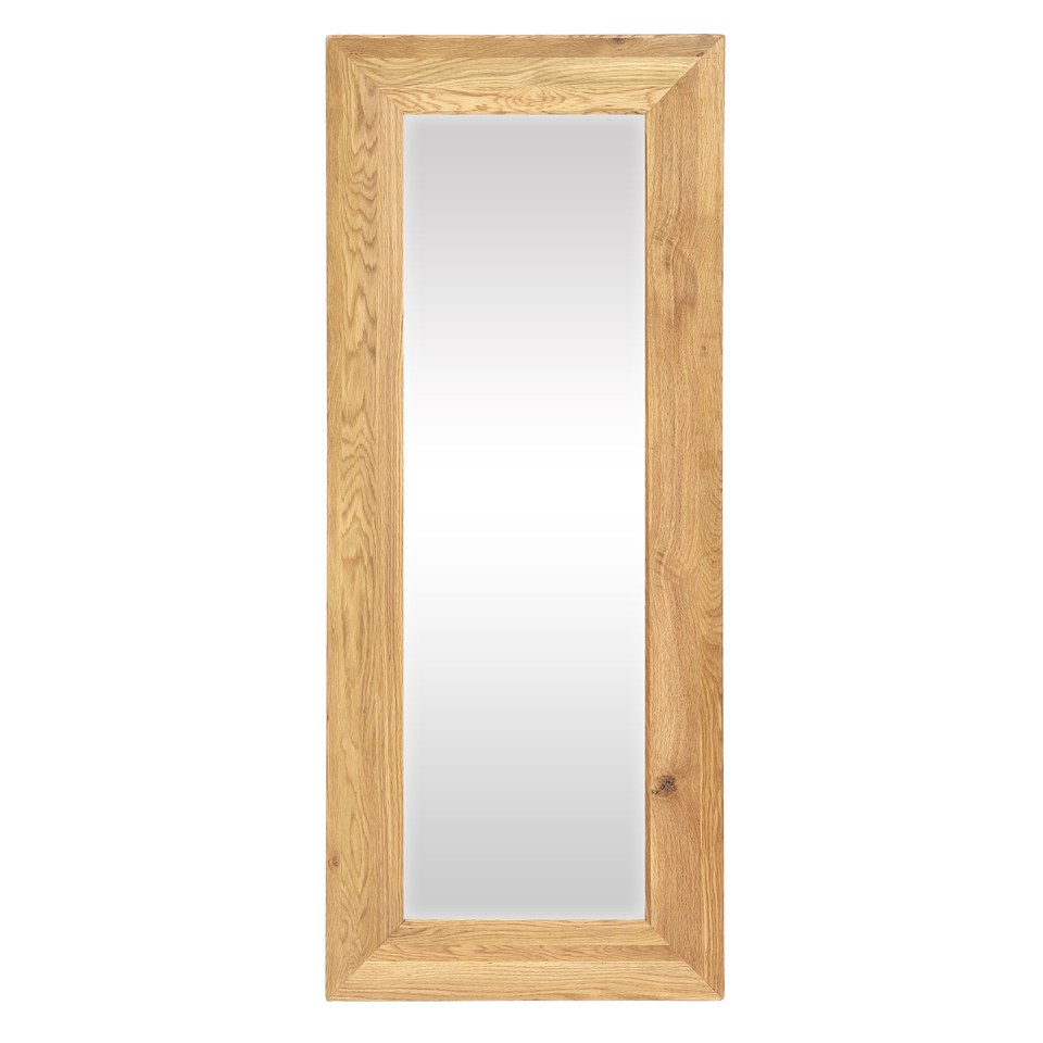 Vancouver Oak VXA018 Full Length Rectangular Mirror