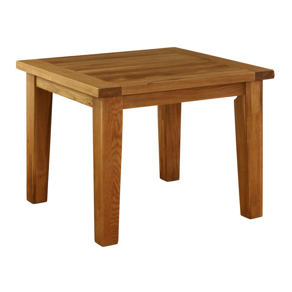 Vancouver Oak VXD010 Fixed Top Dining Table - Small