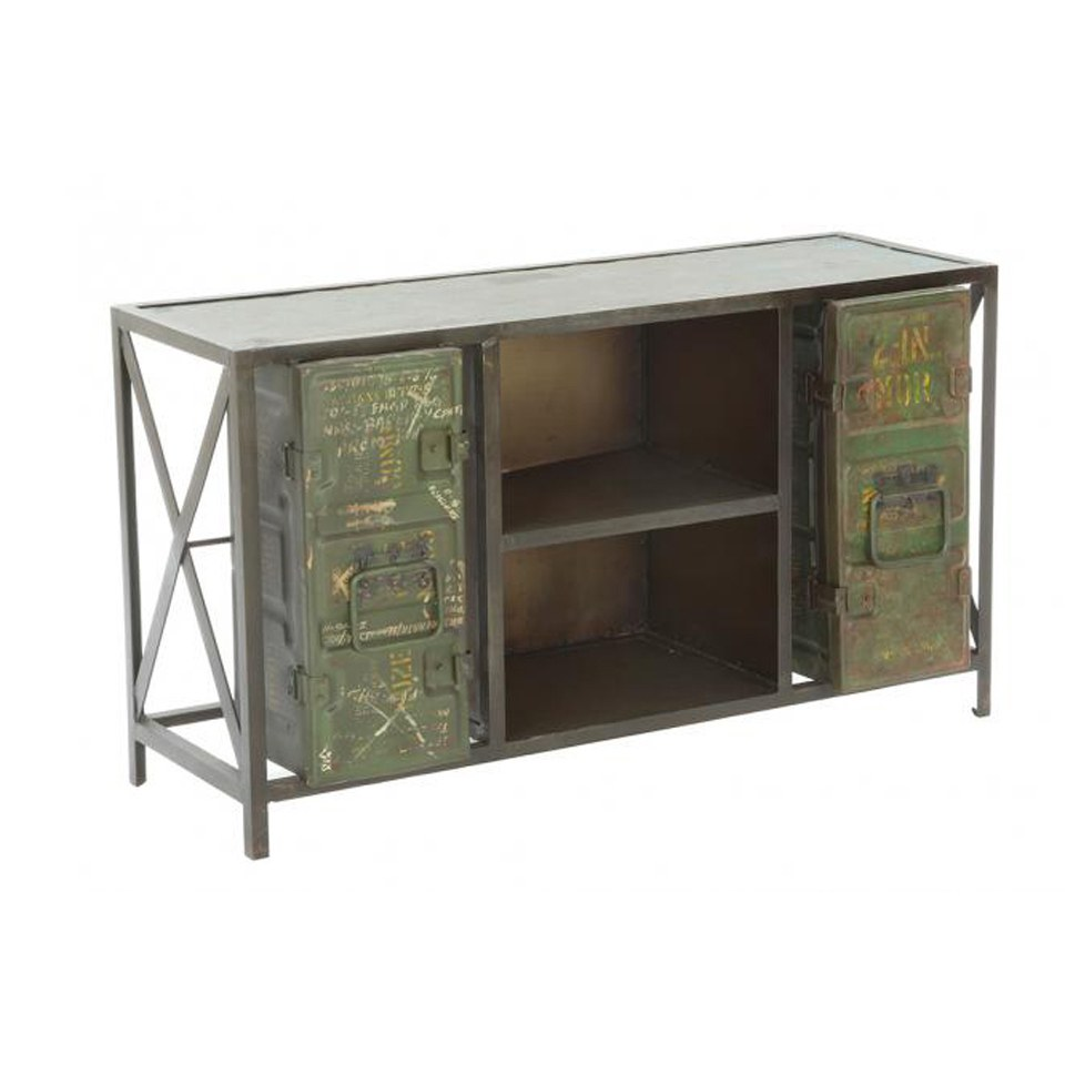 Army Metal TV Unit