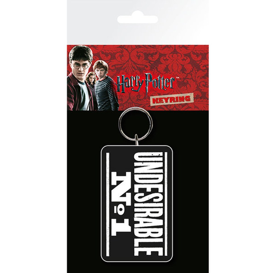 Porte-Clefs Harry Potter Indésirable No. 1