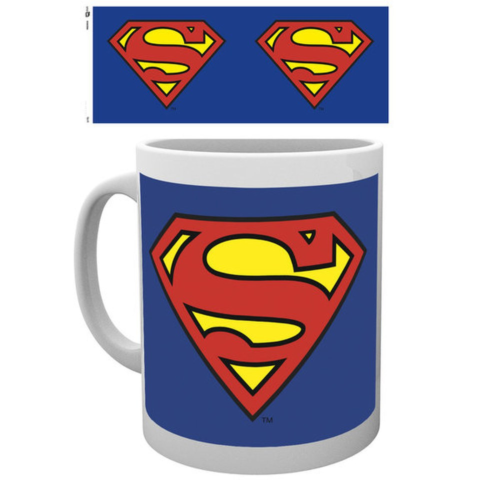 DC Comics Superman Logo - Mug