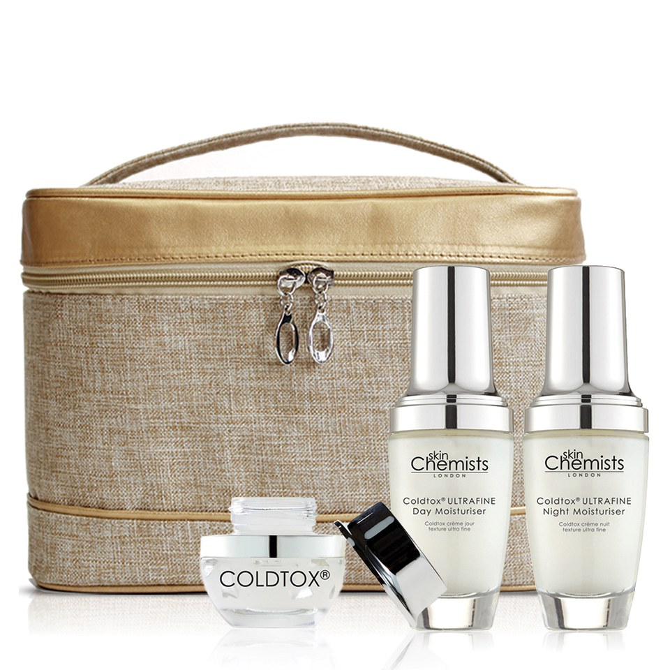 skinChemists Coldtox Anti-Ageing Set (Worth £219.97)