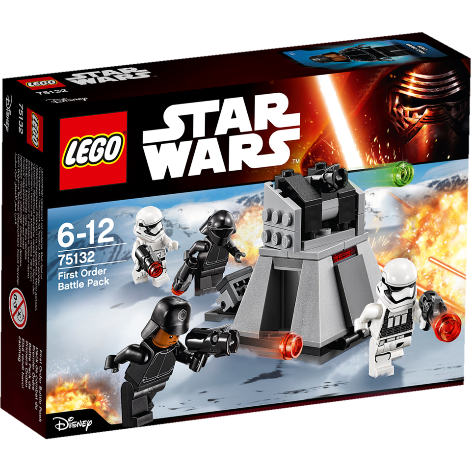 LEGO Star Wars: First Order Battle Pack (75132)
