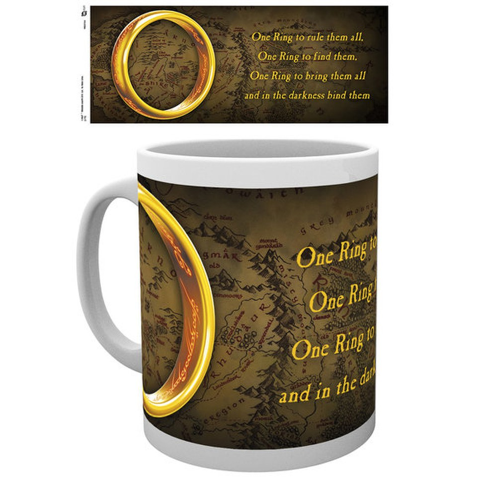Lord of the Rings One Ring - Mug