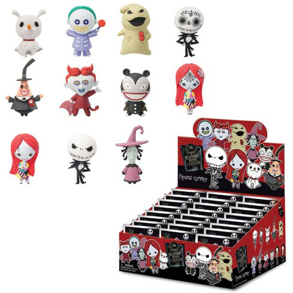 Disney The Nightmare Before Christmas Mini-Figure Key Chain | My ...
