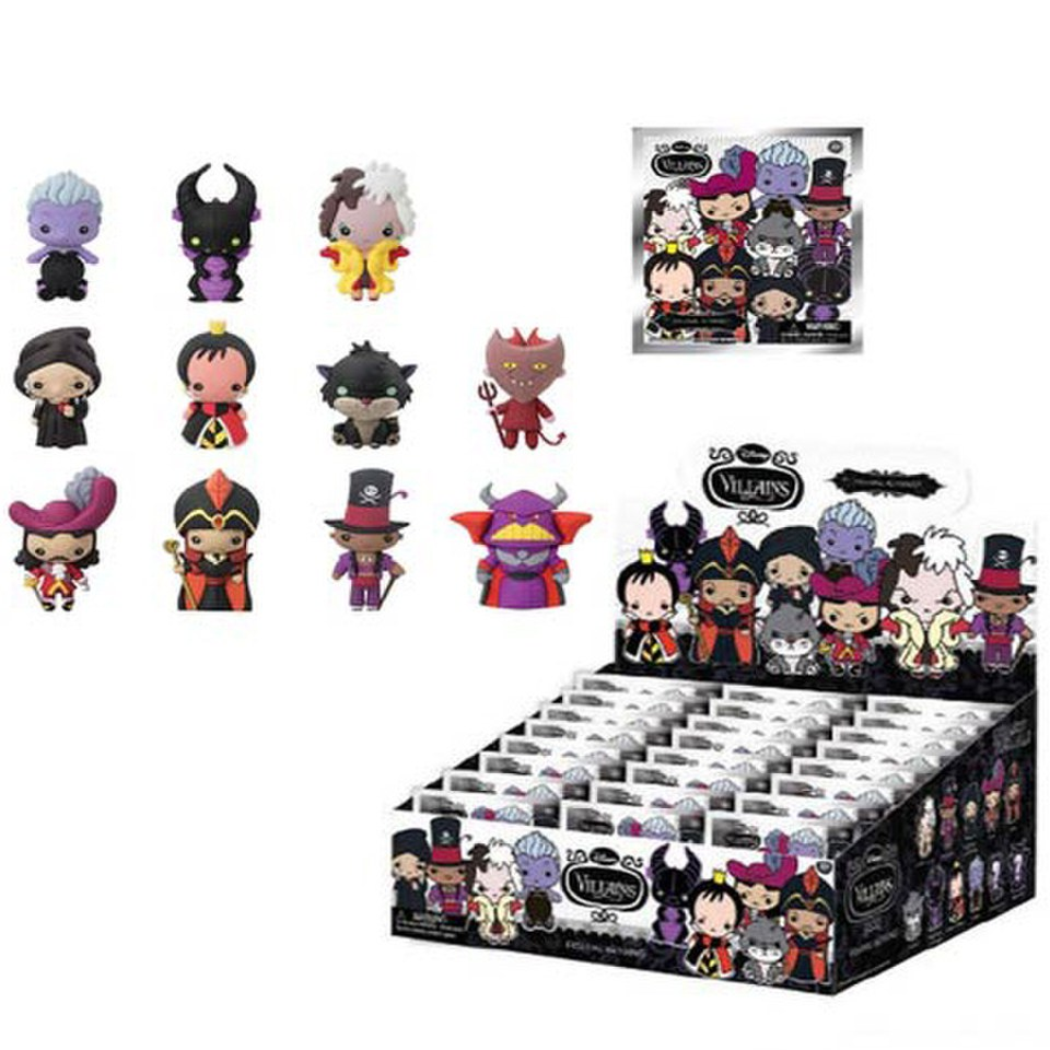Disney Villains Figural Foam Mini-Figure Key Chain