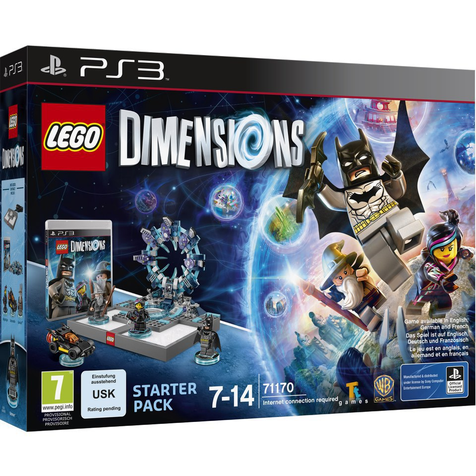 LEGO Dimensions, PS3 Starter Pack