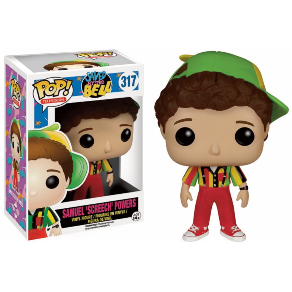 Saved By The Bell Screech Pop! Vinyl Figure