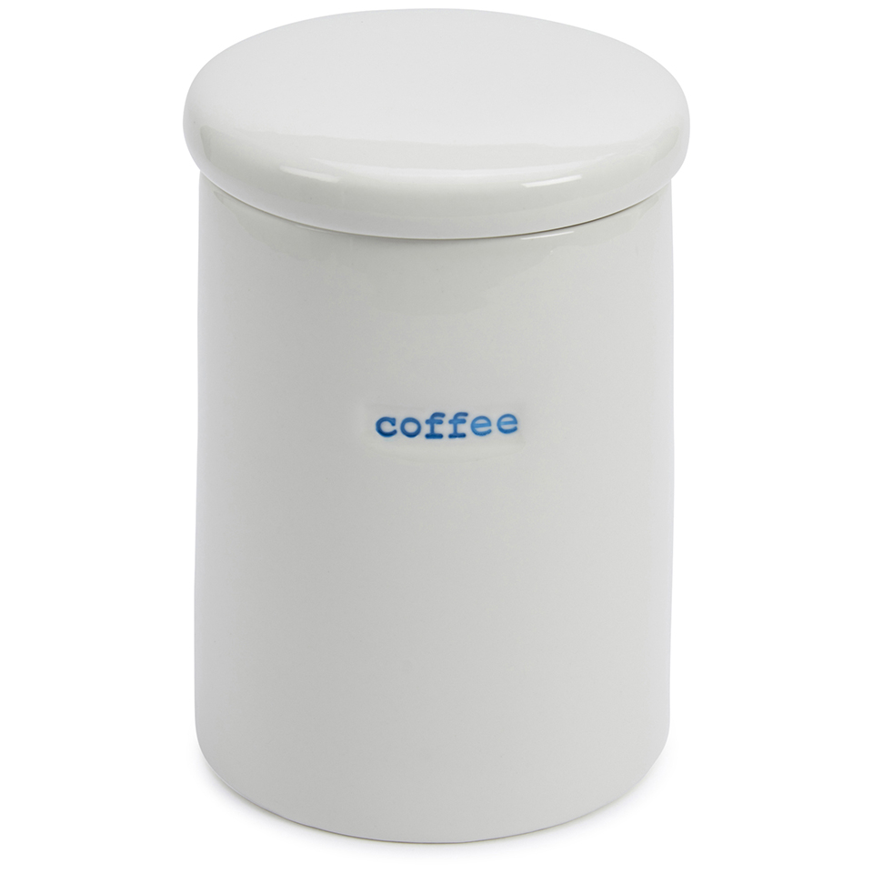 Keith Brymer Jones Coffee Storage Jar - White