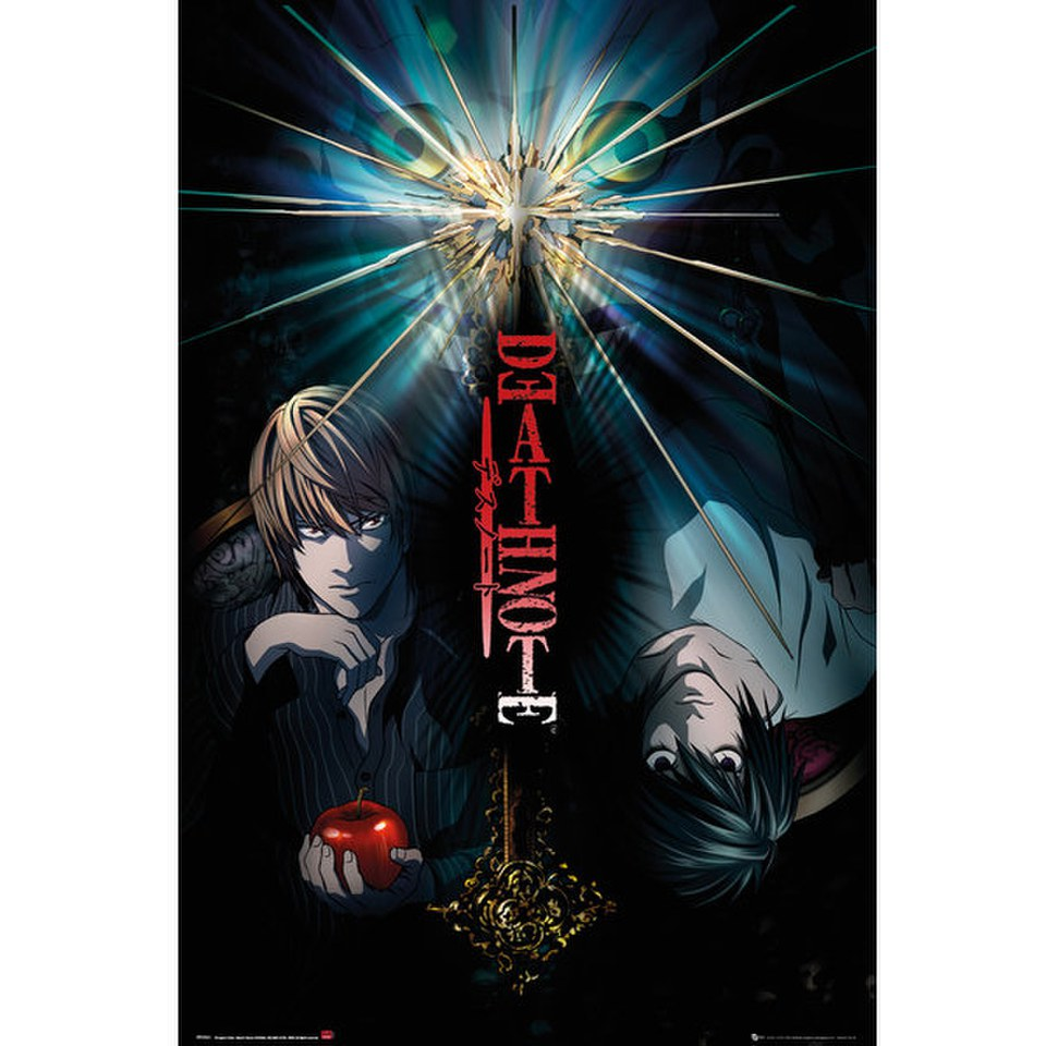 Deathnote Duo - 24 x 36 Inches Maxi Poster
